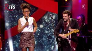 Audrey Pulvar dans Toute la télé Chante Pour le Sidaction - 06/04/13 - 012