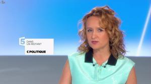 Caroline Roux dans C Politique - 27/04/14 - 01