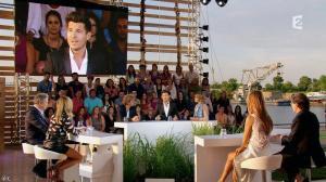 Céline Dion et Julie Snyder dans L Ete Indien - 02/08/14 - 08