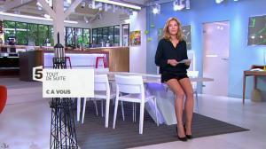 Claire Barsacq dans C à Vous - 23/04/14 - 01