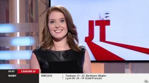 Elodie Poyade dans le JT - 09/08/14 - 06