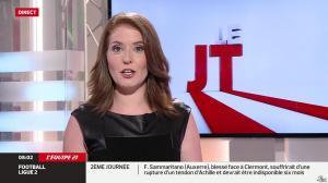Elodie Poyade dans le JT - 09/08/14 - 09