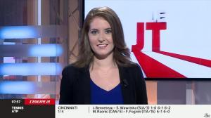 Elodie Poyade dans le JT - 16/08/14 - 01