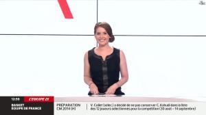 Elodie Poyade dans Menu Sport - 12/08/14 - 01