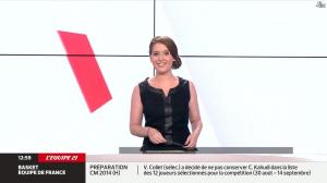 Elodie Poyade dans Menu Sport - 12/08/14 - 02