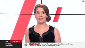 Elodie Poyade dans Menu Sport - 12/08/14 - 06