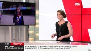 Elodie Poyade dans Menu Sport - 12/08/14 - 07