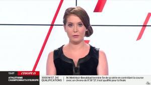 Elodie Poyade dans Menu Sport - 12/08/14 - 09