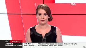 Elodie Poyade dans Menu Sport - 12/08/14 - 10