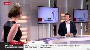 Elodie Poyade dans Menu Sport - 12/08/14 - 19