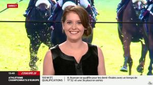 Elodie Poyade dans Menu Sport - 12/08/14 - 21