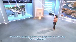 Estelle Denis lors du Tirage du Loto - 25/08/14 - 03