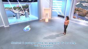 Estelle Denis lors du Tirage du Loto - 25/08/14 - 04