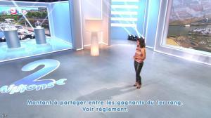 Estelle Denis lors du Tirage du Loto - 25/08/14 - 27