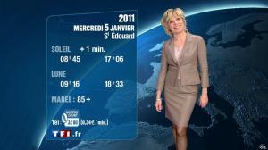 Evelyne Dhéliat à la Météo de 20h - 04/01/11 - 02