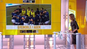 Isabelle Ithurburu dans Jour de Rugby - 17/02/13 - 011