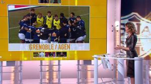 Isabelle Ithurburu dans Jour de Rugby - 17/02/13 - 013