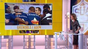 Isabelle Ithurburu dans Jour de Rugby - 17/02/13 - 016