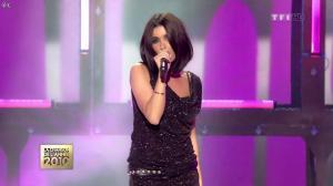 Jenifer Bartoli dans la Chanson de l'Annee 2010 - 07/01/11 - 06