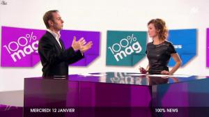 Marie Ange Casalta dans 100 Mag - 12/01/11 - 14