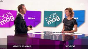 Marie Ange Casalta dans 100 Mag - 12/01/11 - 17