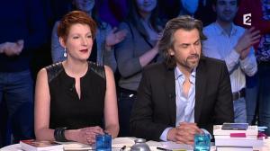 Natacha Polony dans On n'est pas Couché - 08/03/14 - 002