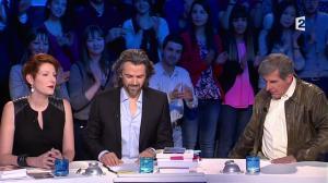 Natacha Polony dans On n'est pas Couché - 08/03/14 - 006