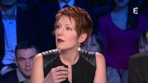 Natacha Polony dans On n'est pas Couché - 08/03/14 - 041