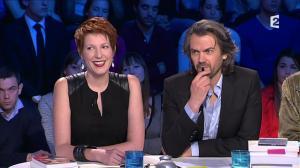 Natacha Polony dans On n'est pas Couché - 08/03/14 - 058