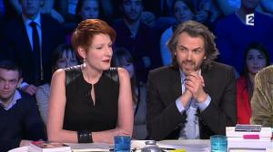 Natacha Polony dans On n'est pas Couché - 08/03/14 - 065