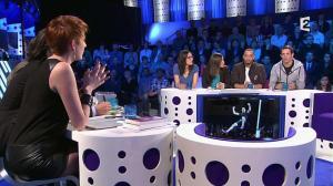 Natacha Polony dans On n'est pas Couché - 08/03/14 - 081
