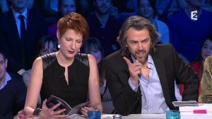 Natacha Polony dans On n'est pas Couché - 08/03/14 - 089