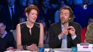 Natacha Polony dans On n'est pas Couché - 08/03/14 - 762