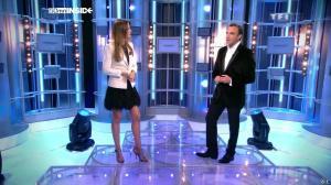 Sandrine Quétier dans 50 Minutes Inside - 01/01/11 - 04