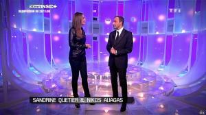 Sandrine Quétier dans 50 Minutes Inside - 03/12/09 - 01