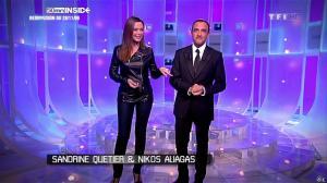 Sandrine Quétier dans 50 Minutes Inside - 03/12/09 - 02
