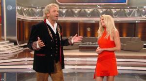 Michelle Hunziker dans Wetten Dass - 02/10/10 - 02