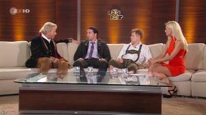Michelle Hunziker dans Wetten Dass - 02/10/10 - 06