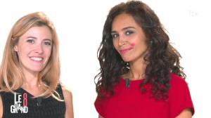 Aïda Touihri et Elisabeth Bost dans le Grand 8 - 04/09/15 - 12