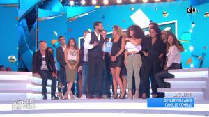Caroline Ithurbide et Clio Pajczer dans Touche pas à mon Poste - 05/09/16 - 07