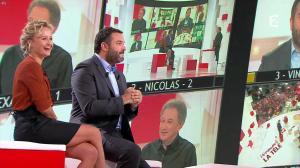 Caroline Roux dans Vivement la télé - 18/09/16 - 07