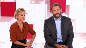 Caroline Roux dans Vivement la télé - 18/09/16 - 09