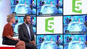 Caroline Roux dans Vivement la télé - 18/09/16 - 11