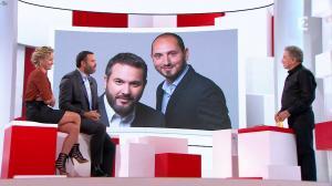 Caroline Roux dans Vivement la télé - 18/09/16 - 12