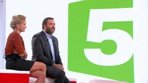 Caroline Roux dans Vivement la télé - 18/09/16 - 13