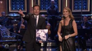 Céline Dion dans Jimmy Fallon - 21/07/16 - 23