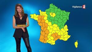 Chloé Nabédian à la Météo de 20h - 13/09/16 - 02