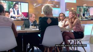Diane Kruger dans C à Vous - 02/09/16 - 04