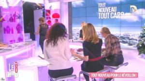 Laurence Ferrari, Caroline Ithurbide et Karin Viard dans le Grand 8 - 17/12/15 - 09