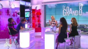 Laurence Ferrari, Hapsatou Sy, Aida Touihri et Elisabeth Bost dans le Grand 8 - 01/07/16 - 01
